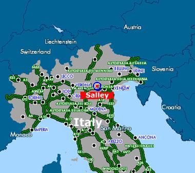Map Of North Of Italy.Salley Cctv Housing Infrared Illuminators